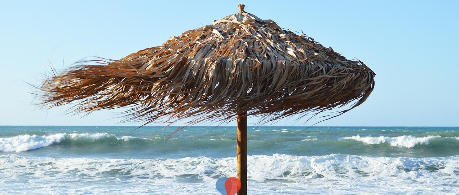 Kissamos beach, a little bit windy