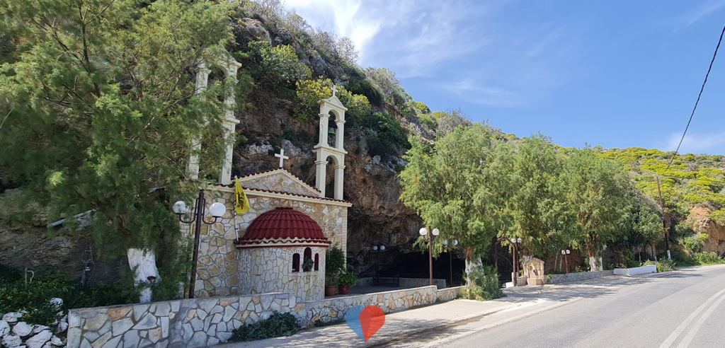 Cave of Saint John, Damialis Kissamos