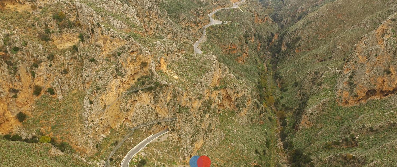 Topolia gorge, kissamos